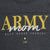 ARMY MOM LADIES 3/4 SLEEVE T-SHIRT (BLACK) 2