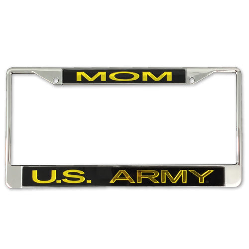 ARMY MOM LICENSE PLATE FRAME 4