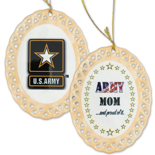 ARMY PROUD MOM ORNAMENT 3