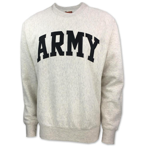 ARMY PROWEAVE TACKLE TWILL CREWNECK (OATMEAL)