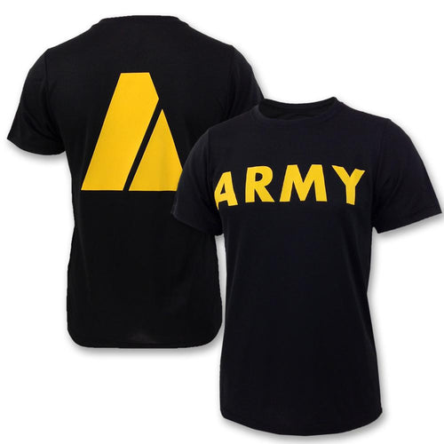ARMY PT T-SHIRT (BLACK) 5