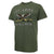 ARMY RETRO T-SHIRT (MOSS) 1