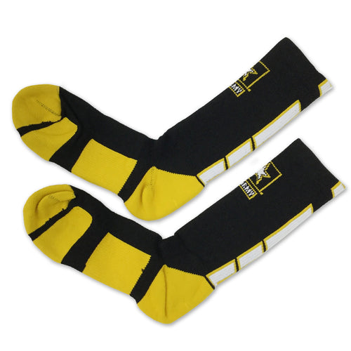 ARMY STAR CREW SOCKS (BLACK) 2
