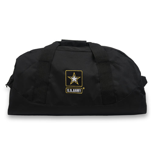 ARMY STAR DOME DUFFEL BAG (BLACK) 3