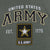 ARMY STAR EST. 1775 T-SHIRT (HEATHER MILITARY GREEN) 2