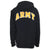 ARMY STAR EMBROIDERED FLEECE FULL ZIP (BLACK) 1