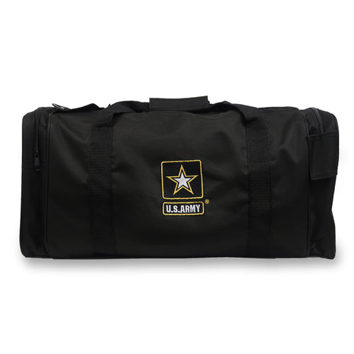 ARMY STAR GEAR PAK DUFFEL BAG (BLACK)