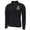 ARMY STAR LOGO PERFORMANCE 1/4 ZIP (BLACK)