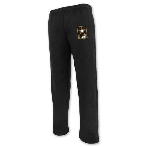 ARMY STAR LOGO SWEATPANT (BLACK)