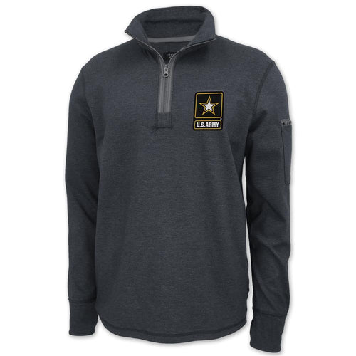 ARMY STAR MASON VINTAGE 1/4 ZIP PULLOVER (CARBON) 6