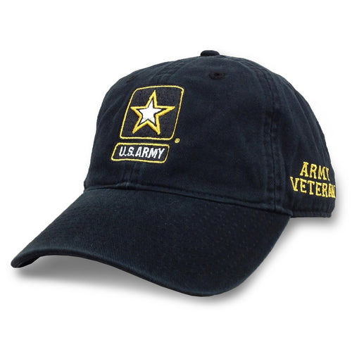 ARMY STAR VET HAT (BLACK) 6