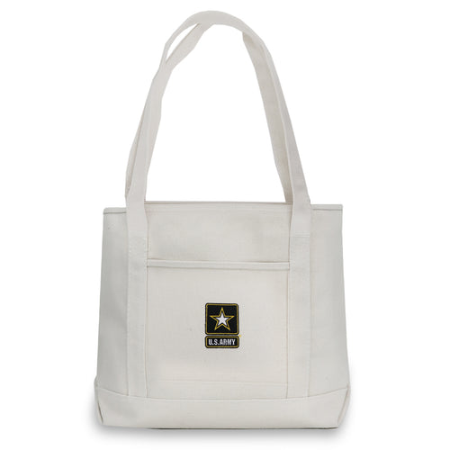 ARMY STAR YACHT TOTE (NATURAL) 3