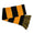 ARMY STRIPE SCARF (BLACK/GOLD)
