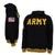 ARMY TACKLE TWILL HOOD (BLACK) 1