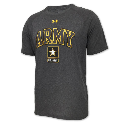 ARMY UNDER ARMOUR ARCH TECH T-SHIRT (GREY) 2