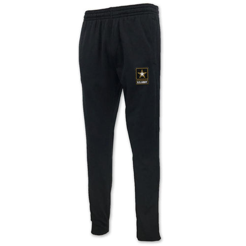 ARMY UNDER ARMOUR ARMOUR FLEECE PANT (BLACK)