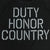 ARMY UNDER ARMOUR DUTY HONOR COUNTRY TECH T-SHIRT (BLACK)