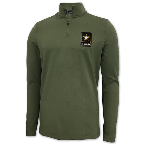 ARMY UNDER ARMOUR LIGHT WEIGHT 1/4 ZIP (OD GREEN)