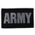 ARMY VELCRO PATCH (BLACK)