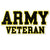 ARMY VETERAN DECAL 2