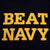 BEAT NAVY T-SHIRT (BLACK/GOLD) 3
