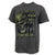 FEAR NO EVIL T-SHIRT (DARK HEATHER) 2