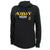 LADIES UNITED STATES ARMY MOM HOOD (HEATHER BLACK)