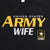 Ladies United States Army Wife Tank (Black)
