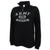 ARMY LADIES DISTRESSED RELAX 1/4 ZIP (BLACK) 1