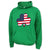 SHAMROCK USA FLAG HOOD (GREEN)
