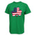 SHAMROCK USA FLAG T-SHIRT (GREEN)