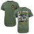 U.S. ARMY ACTION SCENE DUTY HONOR COUNTRY T-SHIRT (OD GREEN)