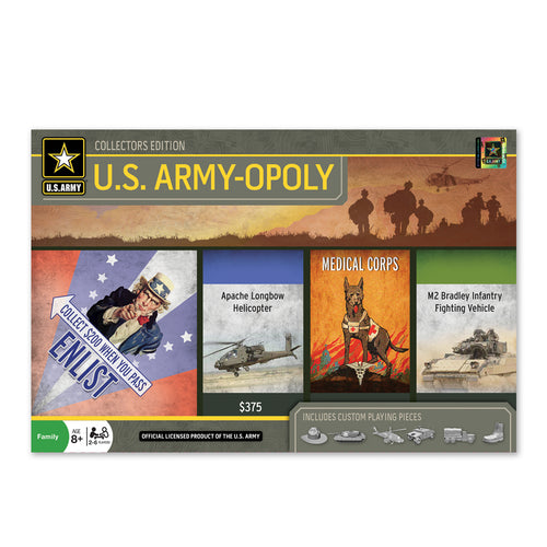 U.S. ARMY-OPOLY GAME