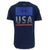 UNDER ARMOUR FREEDOM FIERCE COMPETITOR T-SHIRT (NAVY) 4