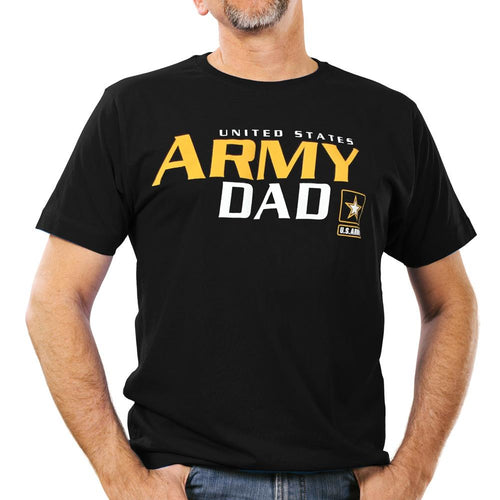 UNITED STATES ARMY DAD T-SHIRT (BLACK)