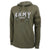 UNITED STATES ARMY LADIES HOOD (HEATHER OD GREEN) 1