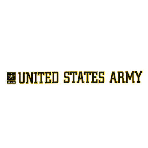 UNITED STATES ARMY STRIP DECAL 1