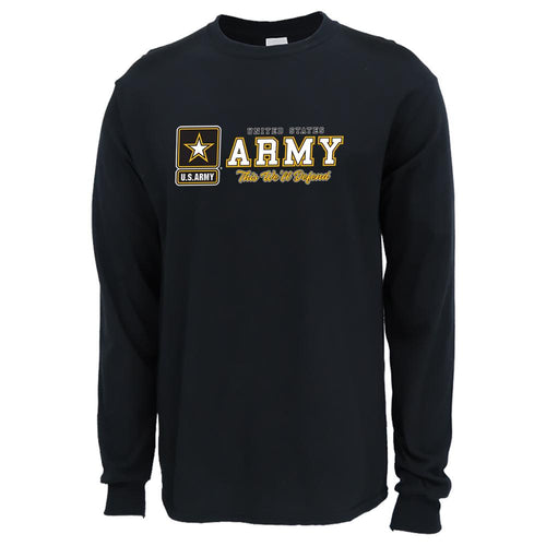 UNITED STATES ARMY THIS WE'LL DEFEND LONG SLEEVE T-SHIRT