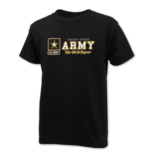 UNITED STATES ARMY YOUTH THIS WE'LL DEFEND T-SHIRT