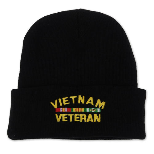 VIETNAM VETERAN WATCH CAP (BLACK) 5