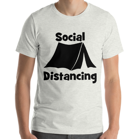 Social Distancing t-shirt with tent