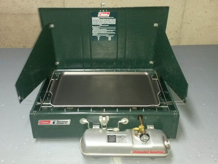 Coleman 414 with griddle