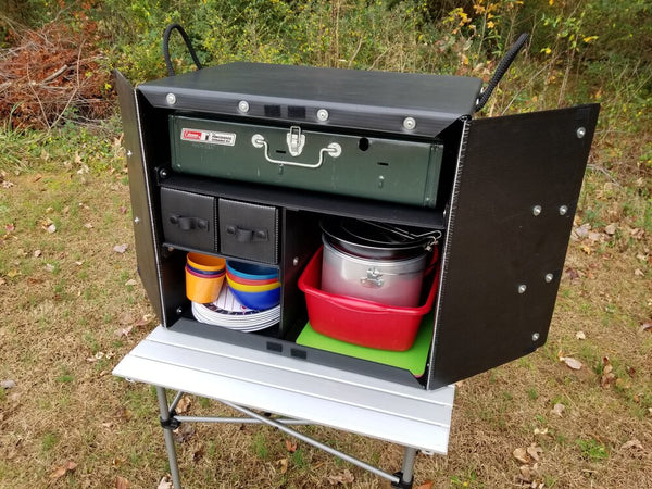 Camping Kitchen Box 1000