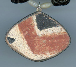 Anasazi Pottery and Fijian Necklace - UniqueCherie