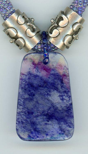 Blueberry Quartz Necklace - UniqueCherie