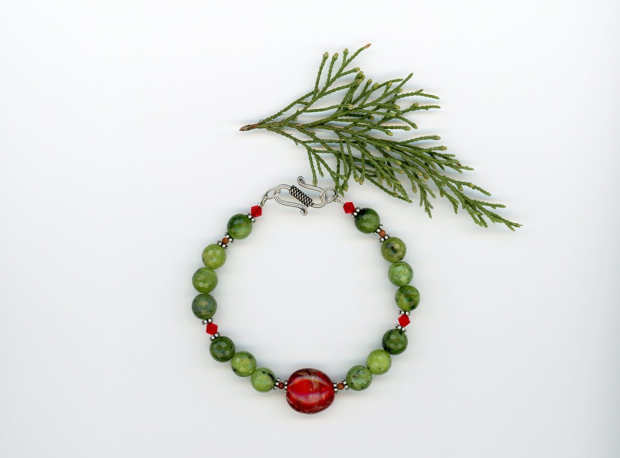 Canadian Jade Bracelet - UniqueCherie