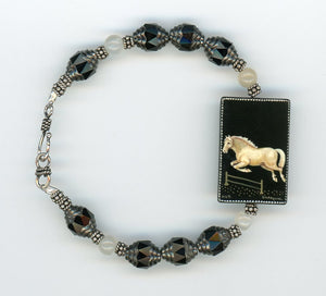 Sally the Sorrel Horse Necklace - UniqueCherie