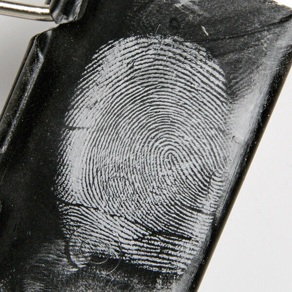 White Magnetic Fingerprint Powder