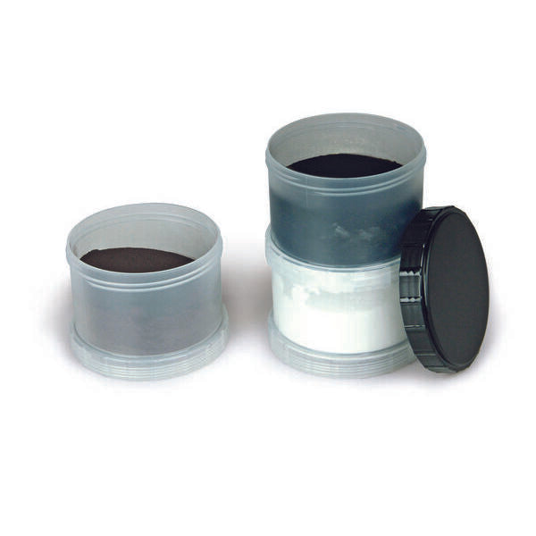 Magnetic Powder Stacker (Black, White, Silver/Gray)