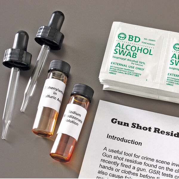 Gunshot Residue Presumptive Test Kit